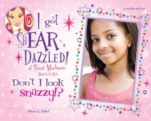 kids ear piercing, kids haircuts, cool kids